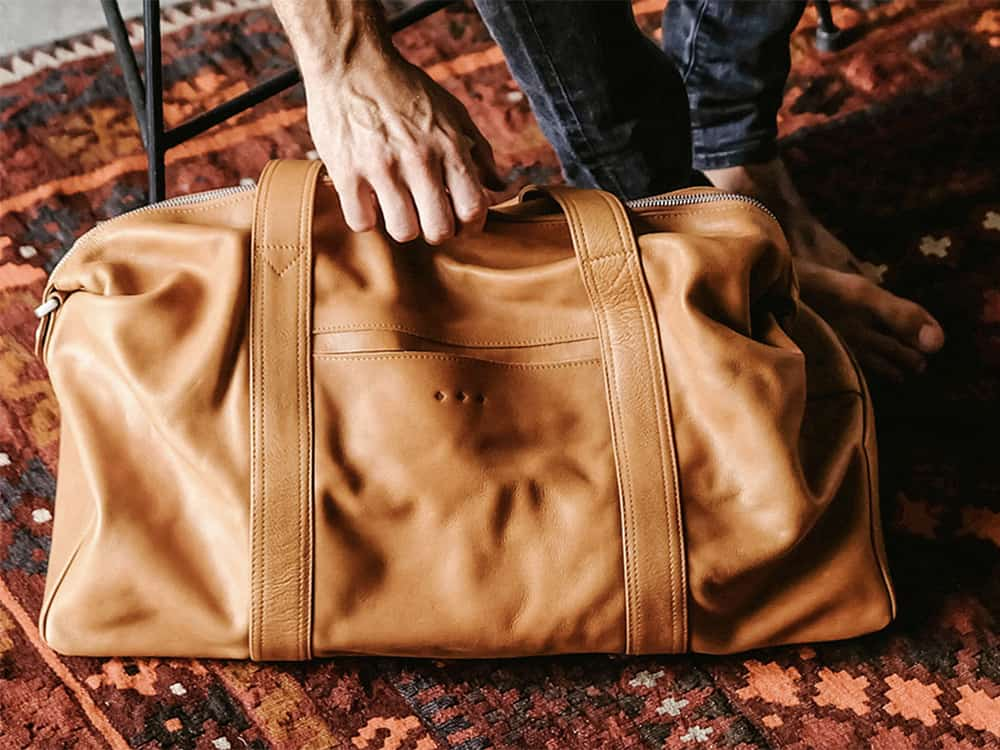 leather bag from kmana