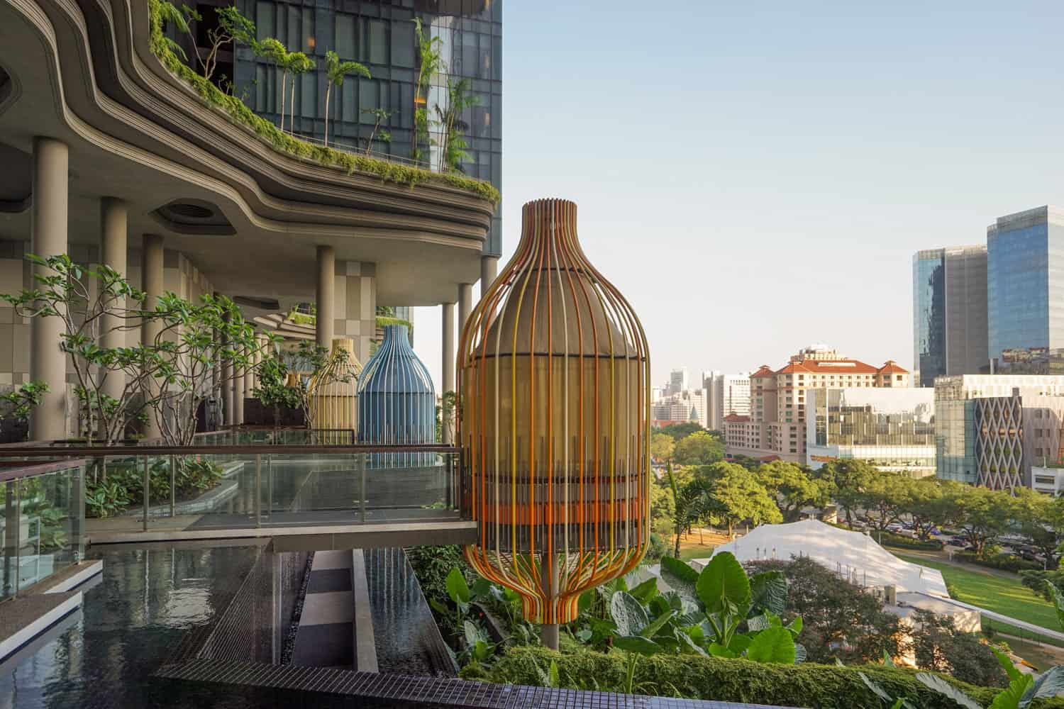 Sustainable hotels in Singapore: PARKROYAL on Pickering