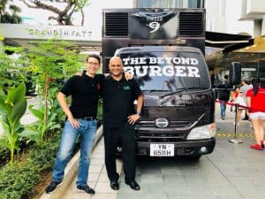 Beyond Burger meat singapore grand hyatt