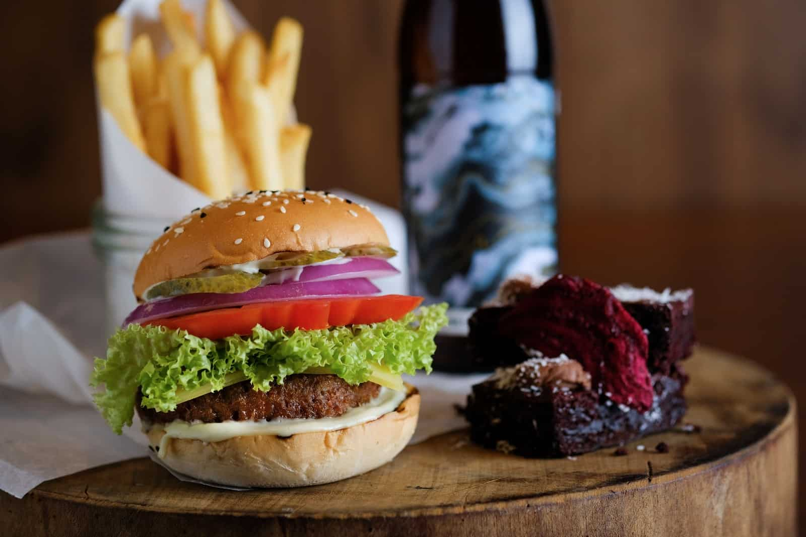 Beyond Burger meat singapore grand hyatt