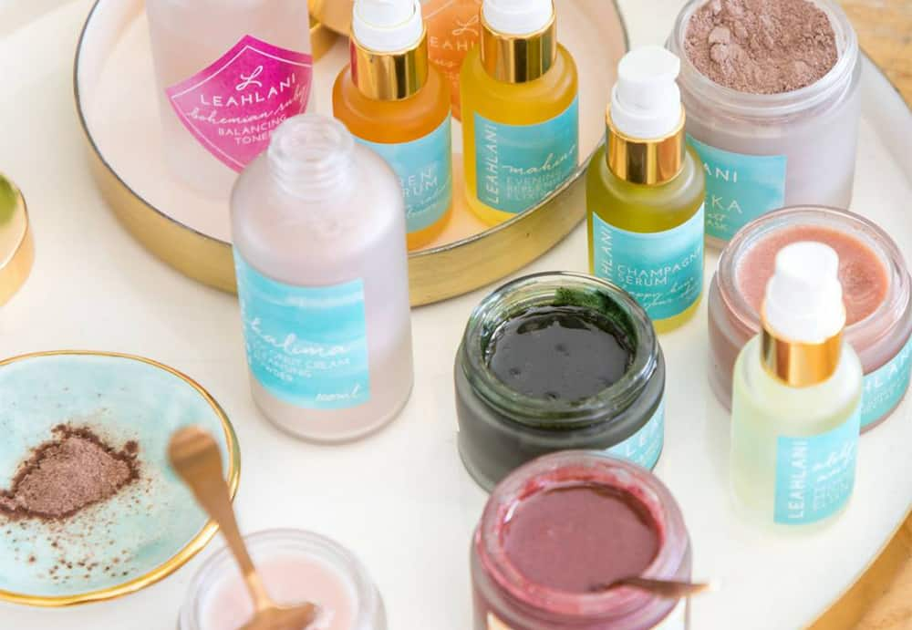 Conscious Christmas gifts: skincare products