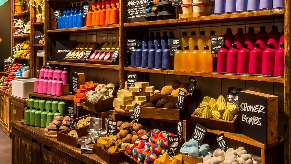 Lush Opens First Naked Store Causeway Bay Hong Kong