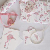 Paper-Roses - Flamingos