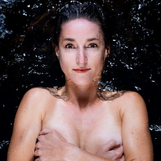 Esther Roling in water
