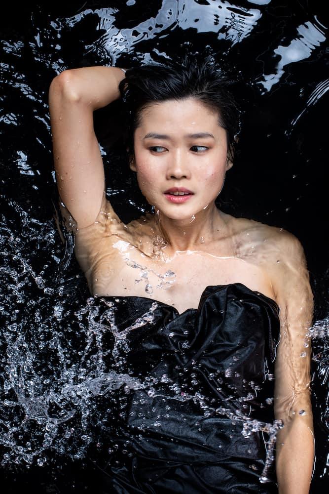 JJ Chuan in water