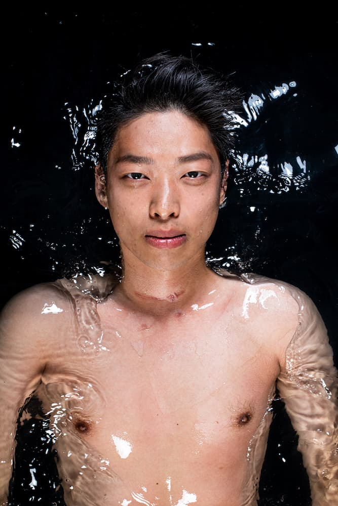 Phillipe Li in water