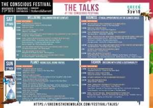 The TALKS Conscious Festival Agenda v1