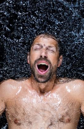 paul niel in water