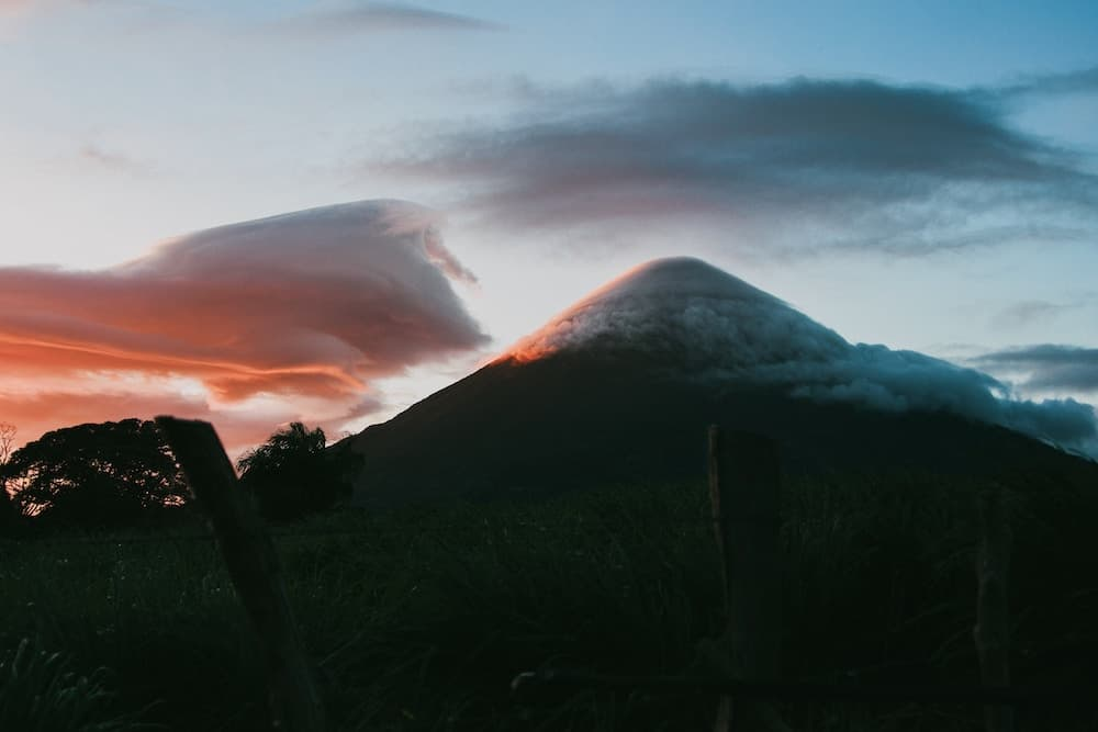 Mountains in Nicaragua
