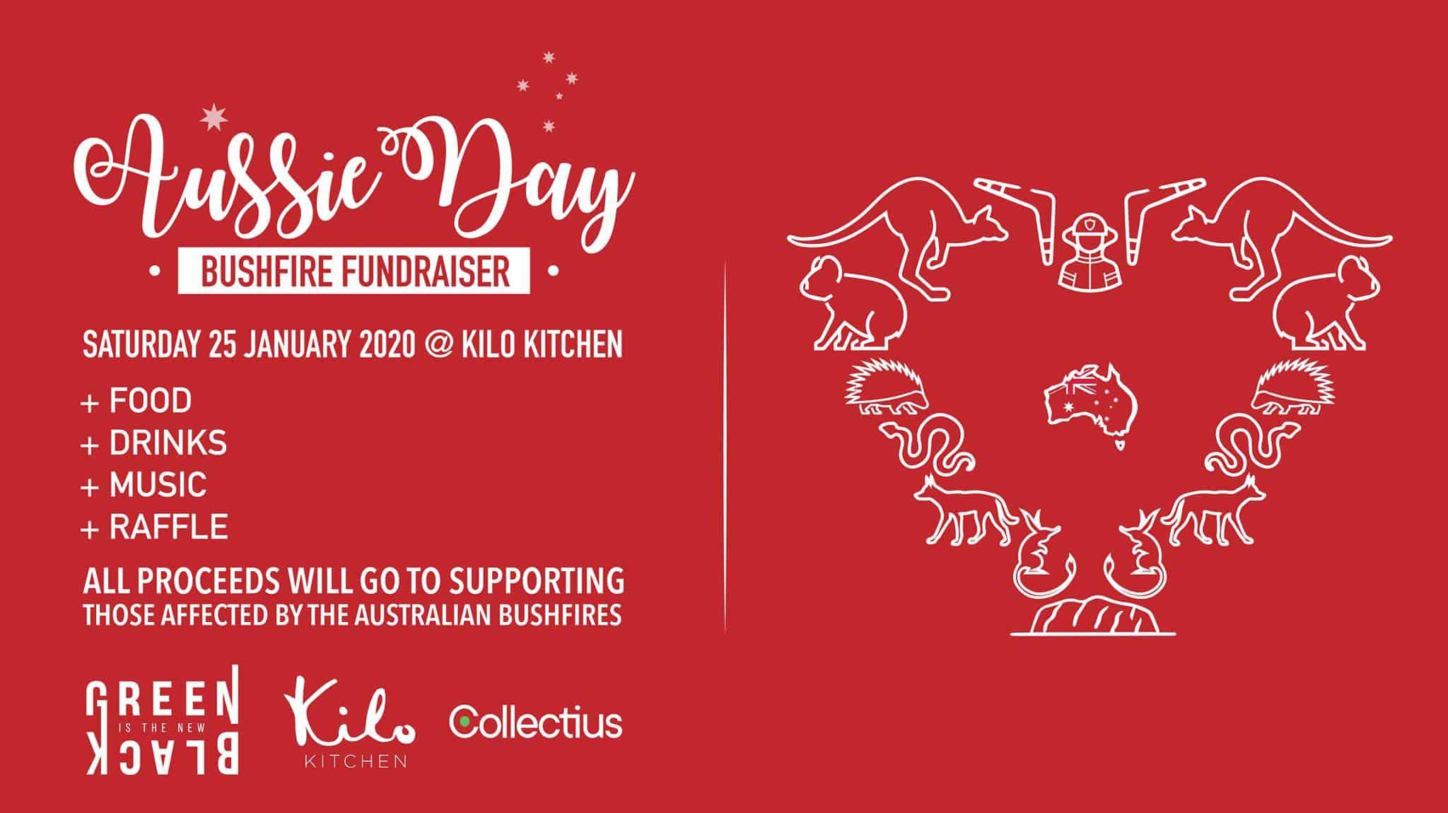 Australia bushfire fundraiser event