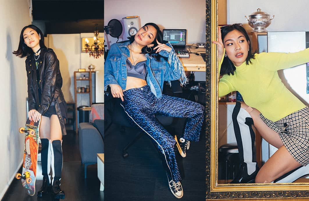 Narelle Kheng in Vestiaire Collective