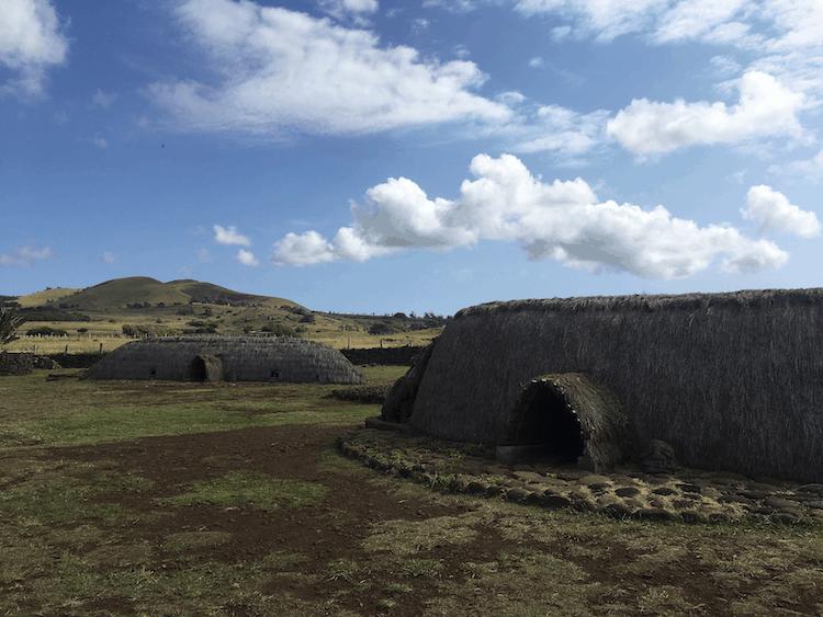 Easter Island indigenous housing