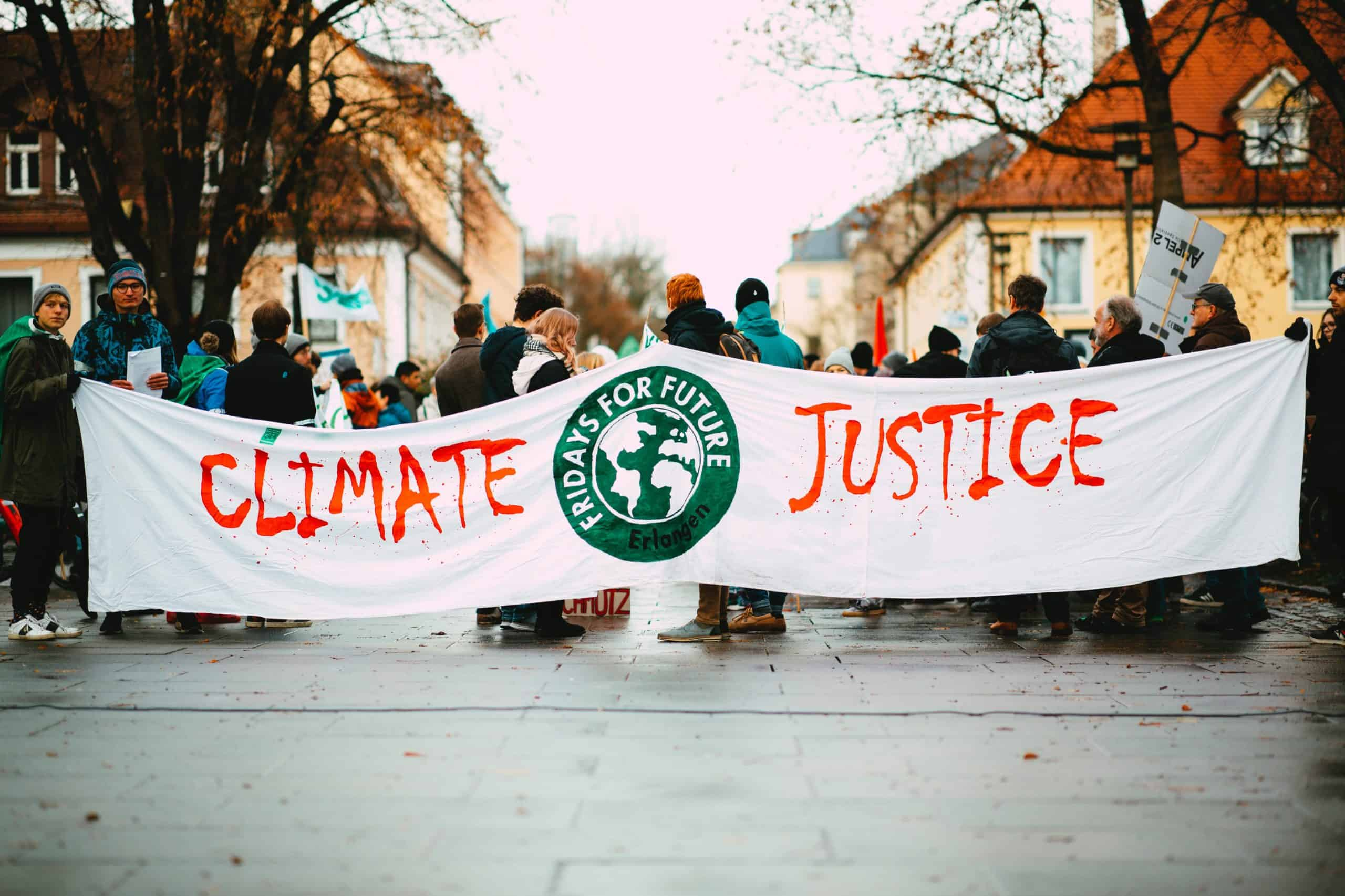 climate justice green is the new black