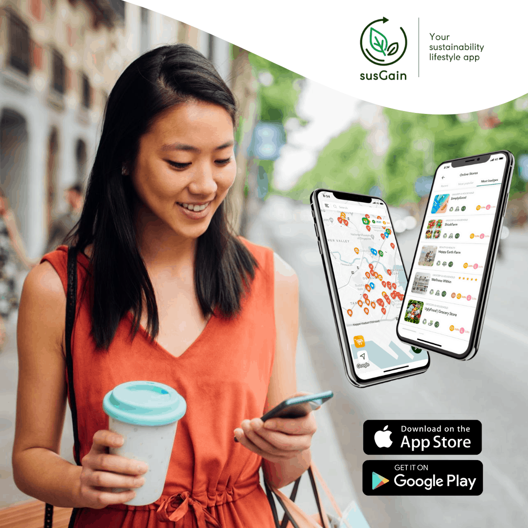 SusGain app Green Is The New BLack