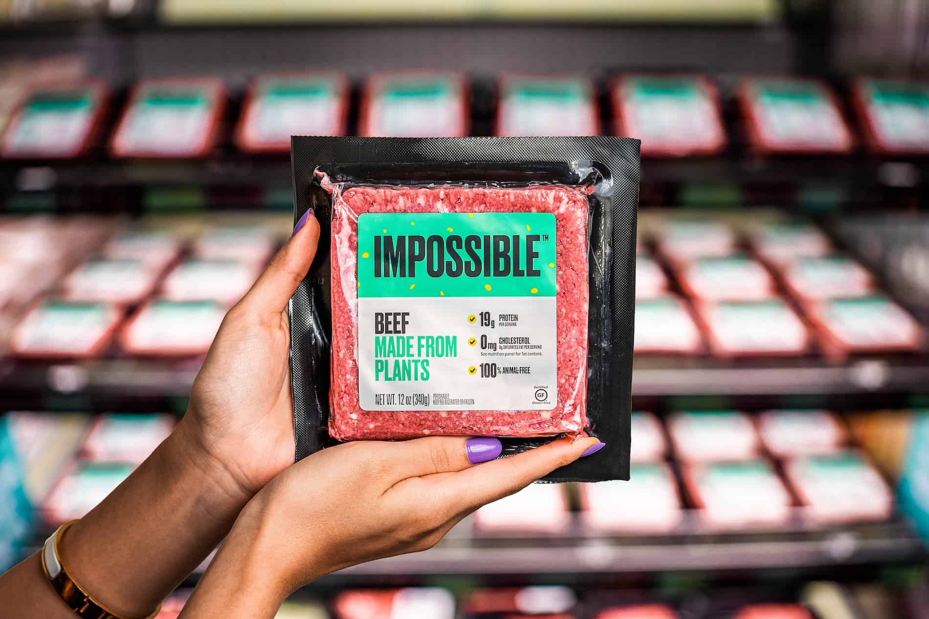 Impossible Beef retail pack
