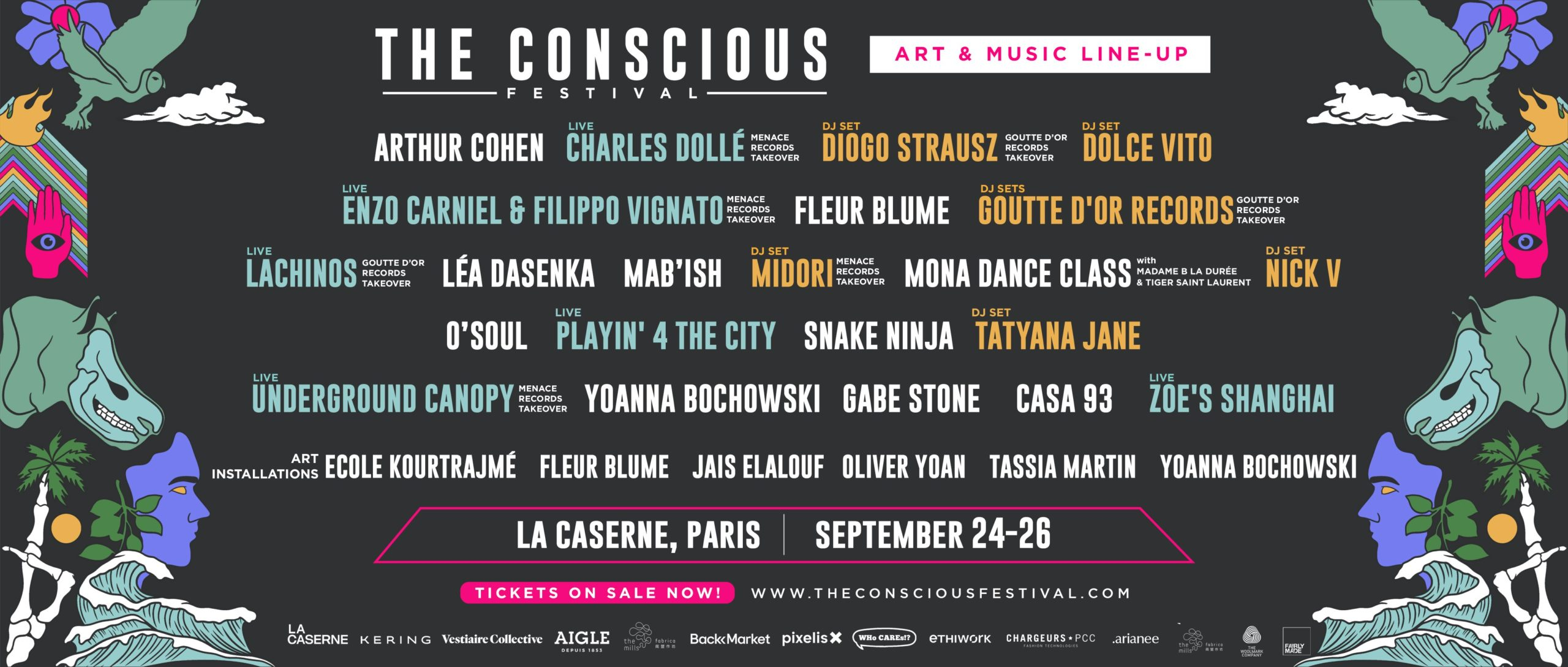 the conscious festival art and music